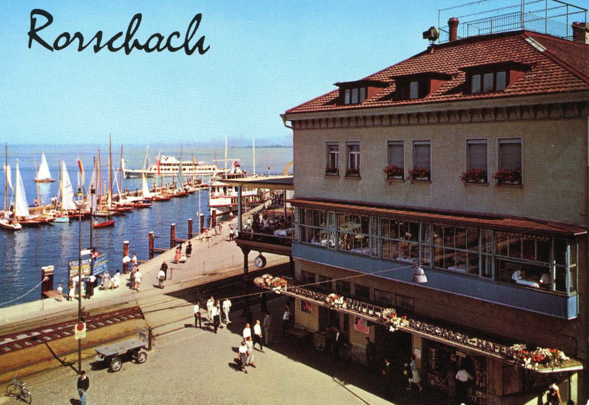 Hafenbahnhof in Rorschach