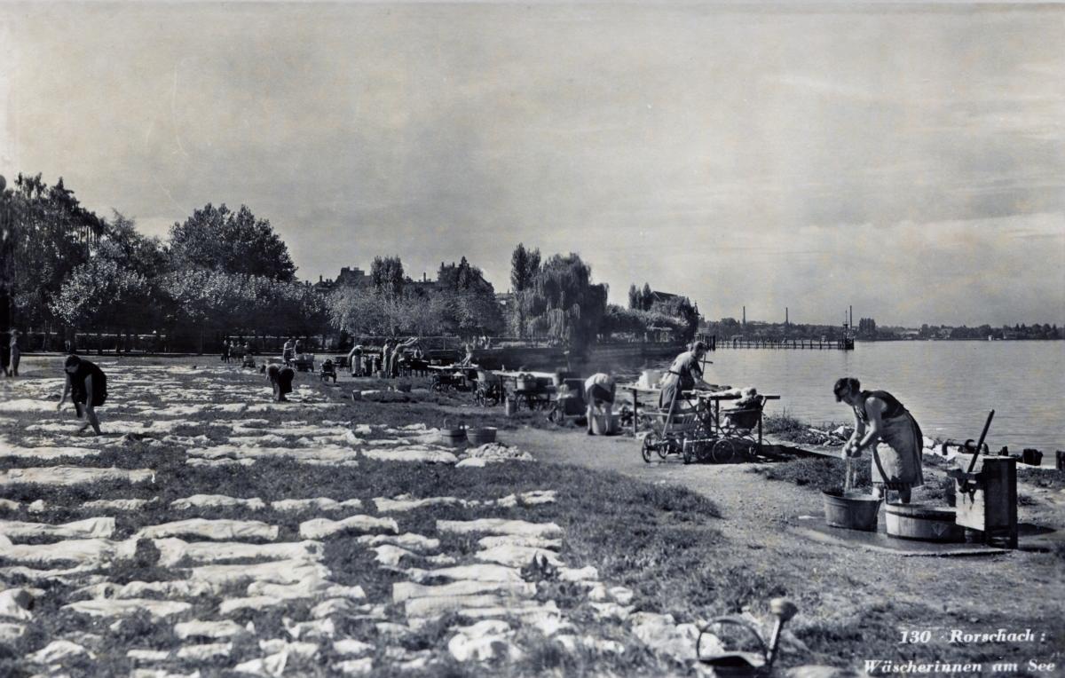 Wäscherinnen am Bodensee