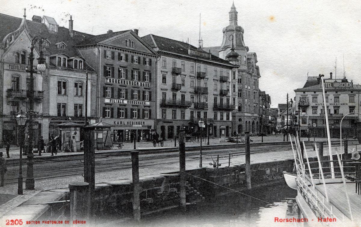 Rorschach - Hafen