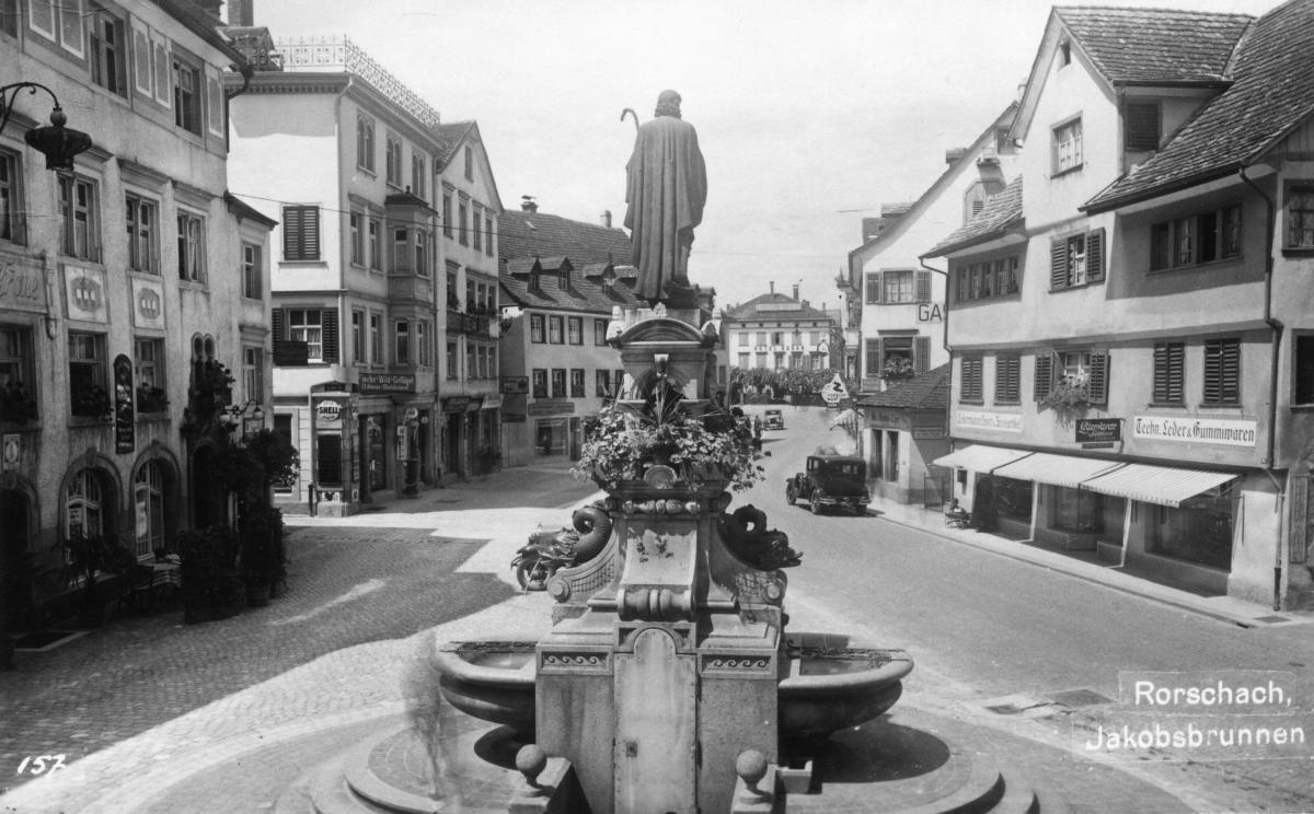 Jakobsbrunnen um 1911