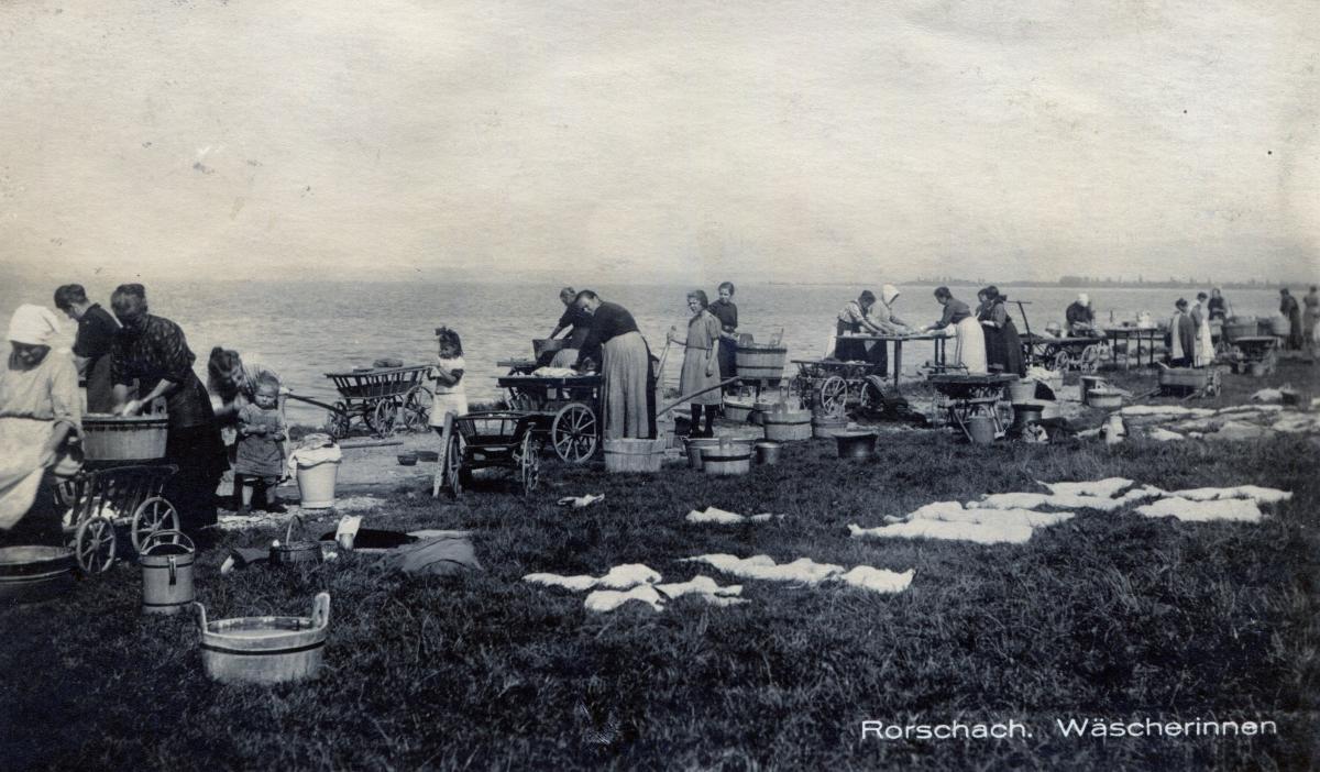 Rorschach Wäscherinnen