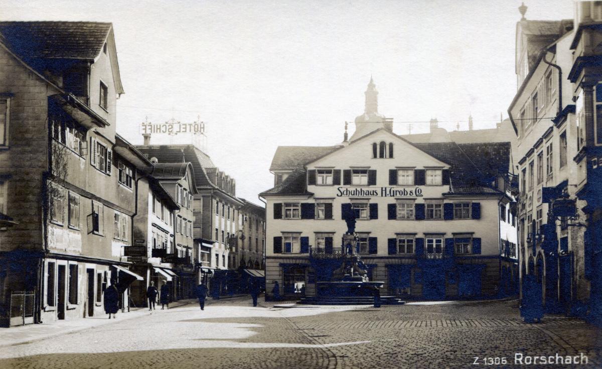 Jakobsplatz um 1910