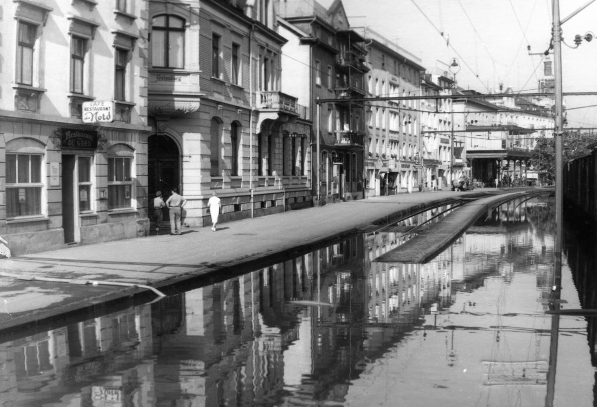 Hochwasser in Rorschach