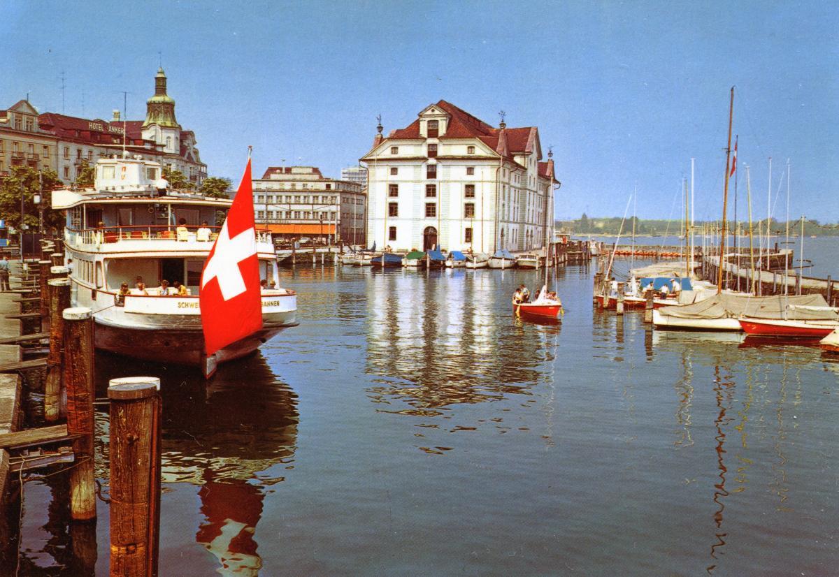 Hafen mit Kornhaus
