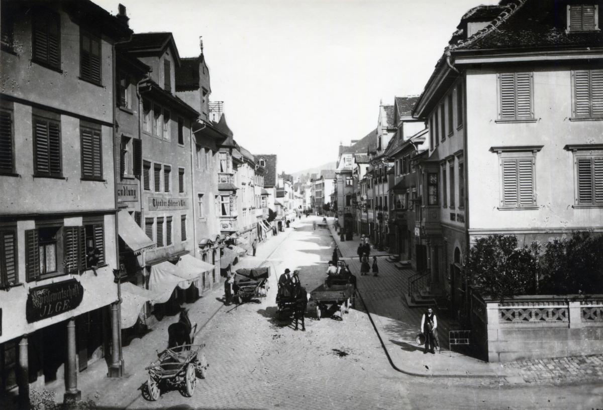 Hauptstrasse 1870/80