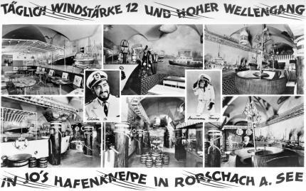 Hafenkneipe um 1956
