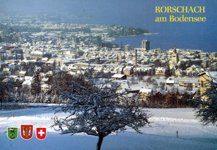 Winter in Rorschach
